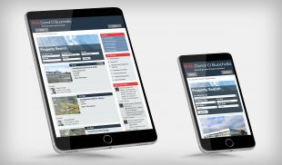 Responsive Website Design - Property Listing Page – Tablet & Mobile – GVA Donal O Buachalla