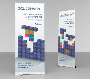 Roll-up Banner Design - DCU Invent