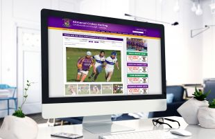 Responsive Website Design - Desktop - Kilmacud Crokes