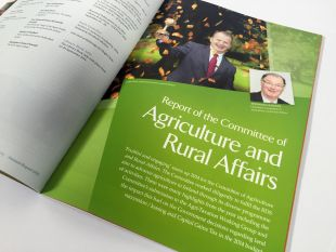 Annual Report Design - Internal Spread, Agriculture and Rural Affairs - RDS