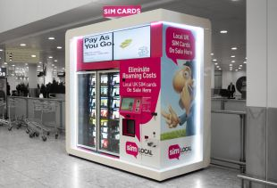 Brand Identity Design - Vending Machine Wrap Design – SIM Local