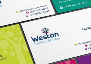 Business Card Design - Weston Facilities Services