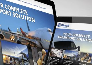 Responsive Website Design - Wheels We Deliver